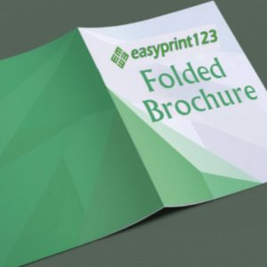 Brochure – Folded 4 Page